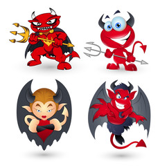 Cartoon Devils
