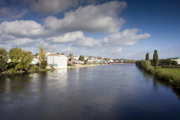 Gorzów Wielkopolski panorama z Warty