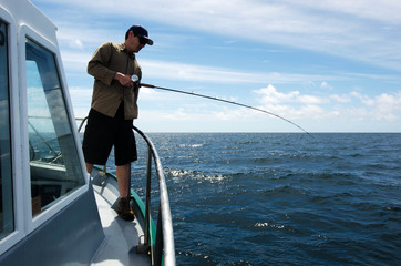 Canvas Prints Fishing Fishing Safari in New Zealand