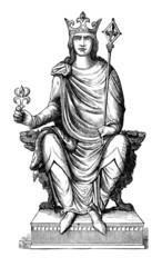Medieval King - 13th century