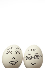 Mr and Mrs Egg