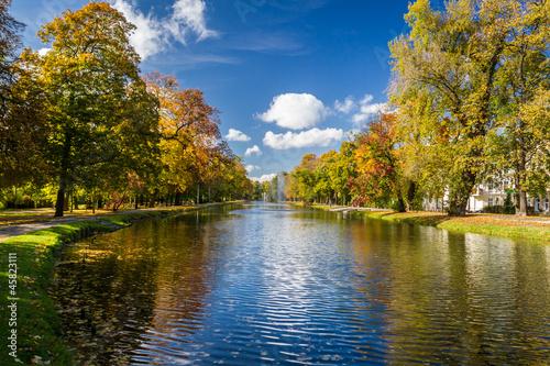 река осень деревья  № 3186440 бесплатно