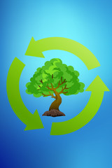 recycle green earth symbol