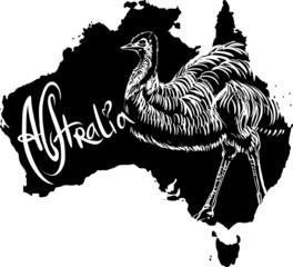 Emu as Australian symbol