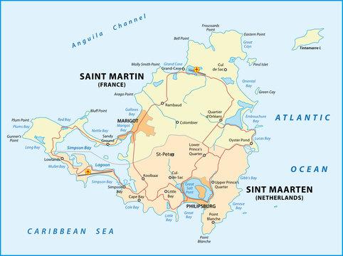 Saint Martin, Sint Maarten