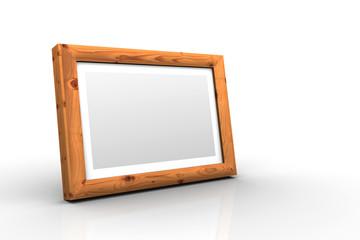 3D Holz-Bilderrahmen - Fichte Antik