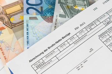 Brutto-Netto-Bezüge - Lohn- und Gehaltsabrechnung
