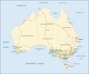 Australia, Vineyards
