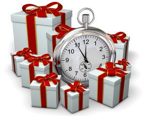 Geschenke mit Uhr