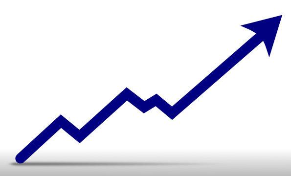 Chart - Pfeil nach oben