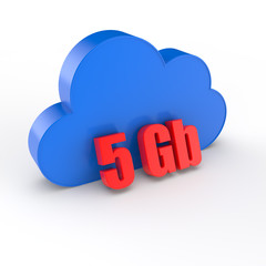 cloud 5 gigabytes