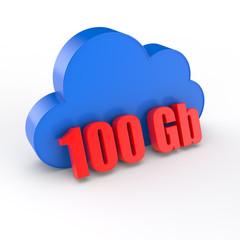 cloud 100 gigabytes