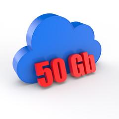 cloud 50 gigabytes