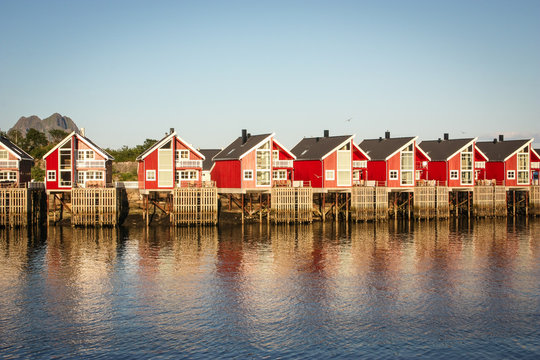Ferienhäuser am Meer