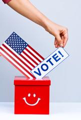 vote in presidential election in USA