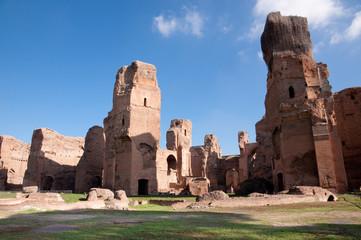 Fotomurales - Terme di Caracalla ruins horizontal - Roma - Italy