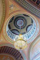 Chandelier in interior of Stroganov Palace