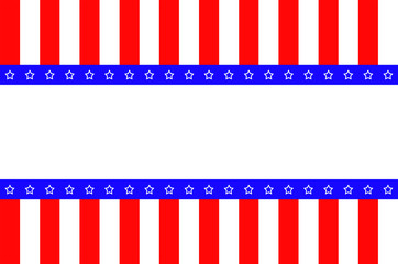 Abstract background of USA flag