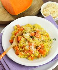 Pumpkin risotto - Risotto alla zucca
