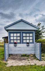 Small cottage near the seaside, Denmark
