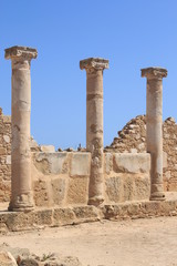 Archaeological park in Paphos, Cyprus