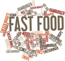 Word cloud for Fast Food