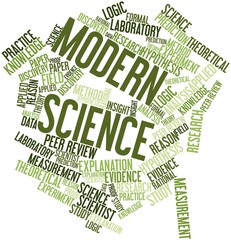 Word cloud for Modern Science