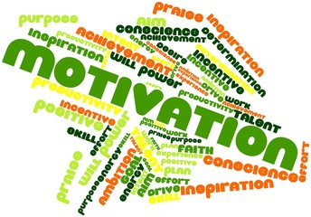 Word cloud for Motivation