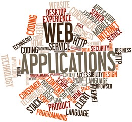 Word cloud for Web Applications