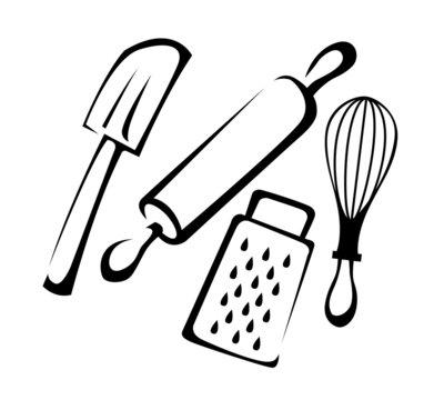 Baking utensil set