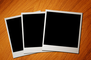 blank photo paper