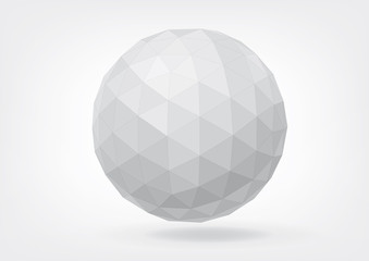 Spherical shape from triangles