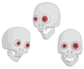 Skulls (Human for Halloween etc.)