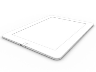 3d drawing tablet on a white background №2