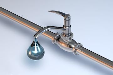 Pipeine Wassertropfen 1