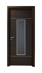 Dark brown door