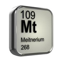 3d Periodic Table - 109 Meitnerium
