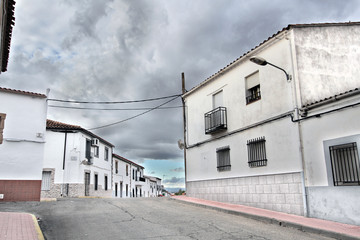Wall Mural - Calle de Holguera, Cáceres, España
