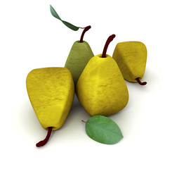 Cubist pears