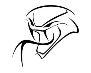 Viper  silhouette
