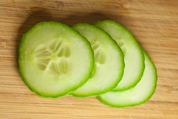 Gurke - frisch geschnitten