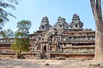Templo de Ta Keo. Angkor. Camboya.