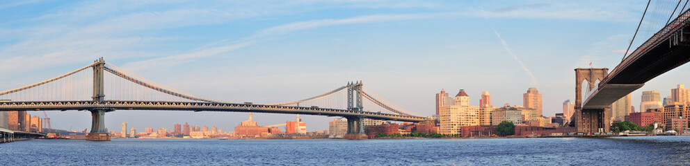 Wall Mural - New York City Bridges
