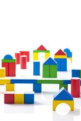 積み木の街