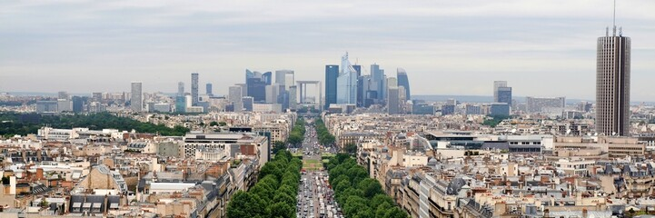 View of new Paris city - La Defense