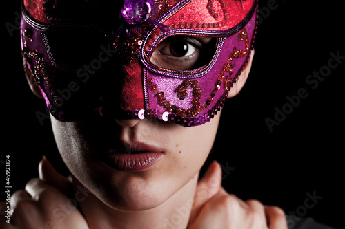 photo of girls with mask № 22440