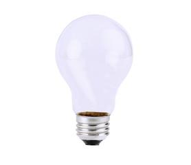 Empty Light bulb, isolated