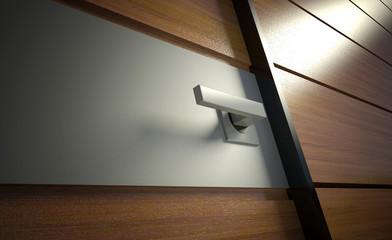 3d modern door handle