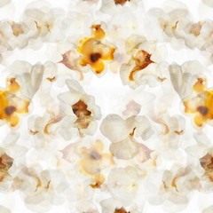 illustration popcorn background, texture