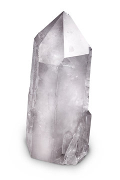Natural quartz berg crystal